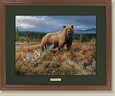 Autumn Splendor-Grizzly by Persis Clayton Weirs