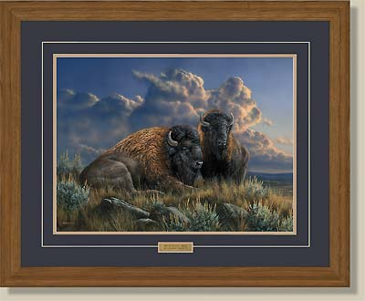 Distant Thunder-Bison by Rosemary Millette