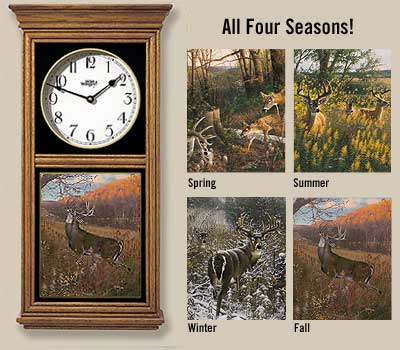Four Seasons Clock Set