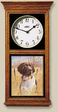 German Shorthair Pointer Clock