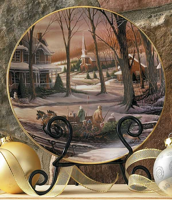 2009 Homeward Bound Christmas Collector Plate
