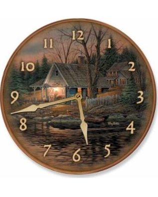 "Quite of the Evening 11"" Wall Clock"